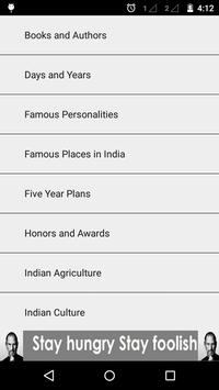 GK & Current Affair 2016 INDIA apk screenshot