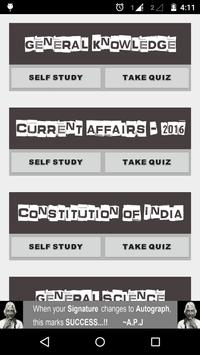 GK & Current Affair 2016 INDIA poster