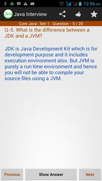 Java Interview Reference - Ads apk screenshot