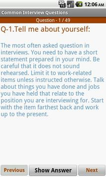 Interview FAQs & Tricks 2016 poster
