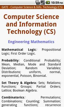 Competitive Syllabus - INDIA apk screenshot