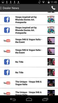 Vespa Brooklyn DealerApp apk screenshot