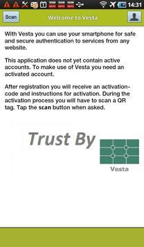 Vesta QR poster