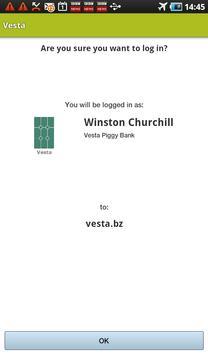 Vesta QR apk screenshot