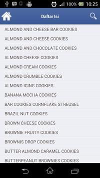 Resep Cookies Pilihan apk screenshot