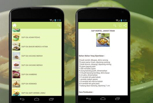 Resep Sup Sehat apk screenshot