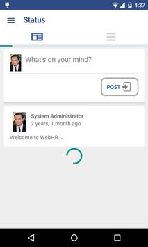 WebHR apk screenshot