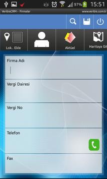Veribis CRM apk screenshot