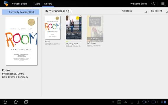 Versent Books apk screenshot