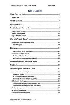 Dealing with Prostate Cancer P poster