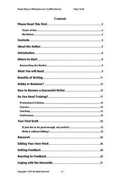 Simple Steps2 Writing Success poster