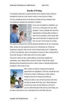 Simple Steps2 Writing Success apk screenshot