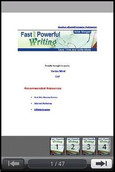 Fast&Powerful Writing Preview poster