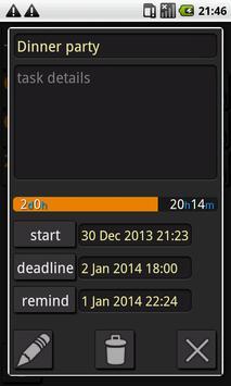 DEADLINE-2DO-NOTES WIDGET apk screenshot