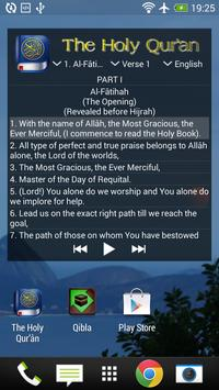 The Holy Quran - English apk screenshot