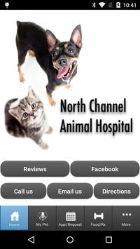 North Channel Animal Hospital poster