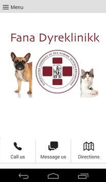 Fana Dyreklinikk poster