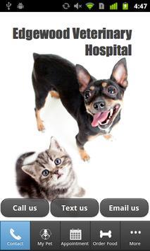 Edgewood Veterinary Hospital poster