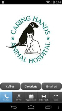 Caring Hands Animal Hospital poster