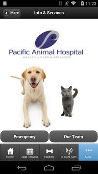 Pacific Animal Hospital apk screenshot