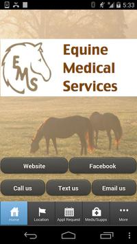 Equine Medical Services poster