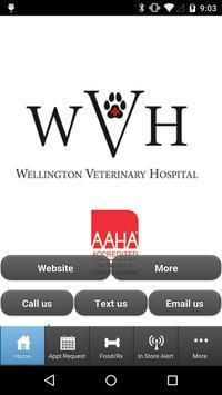 Wellington Veterinary Hospital poster