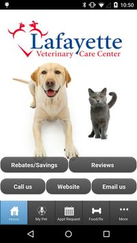 Lafayette Veterinary Care poster