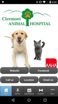Clermont Animal Hospital poster