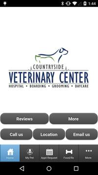 Countryside Veterinary Center poster