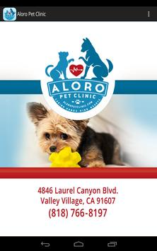 Aloro Pet Clinic apk screenshot