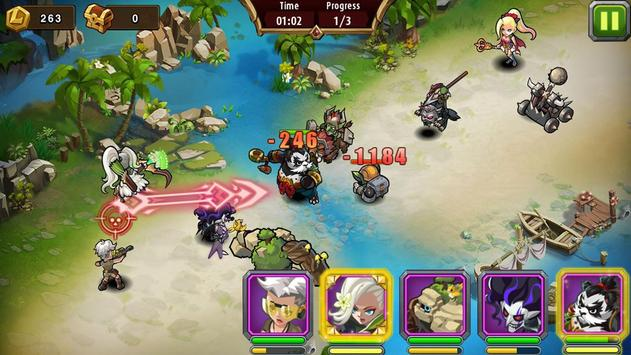 Magic guide rush heroes apk screenshot