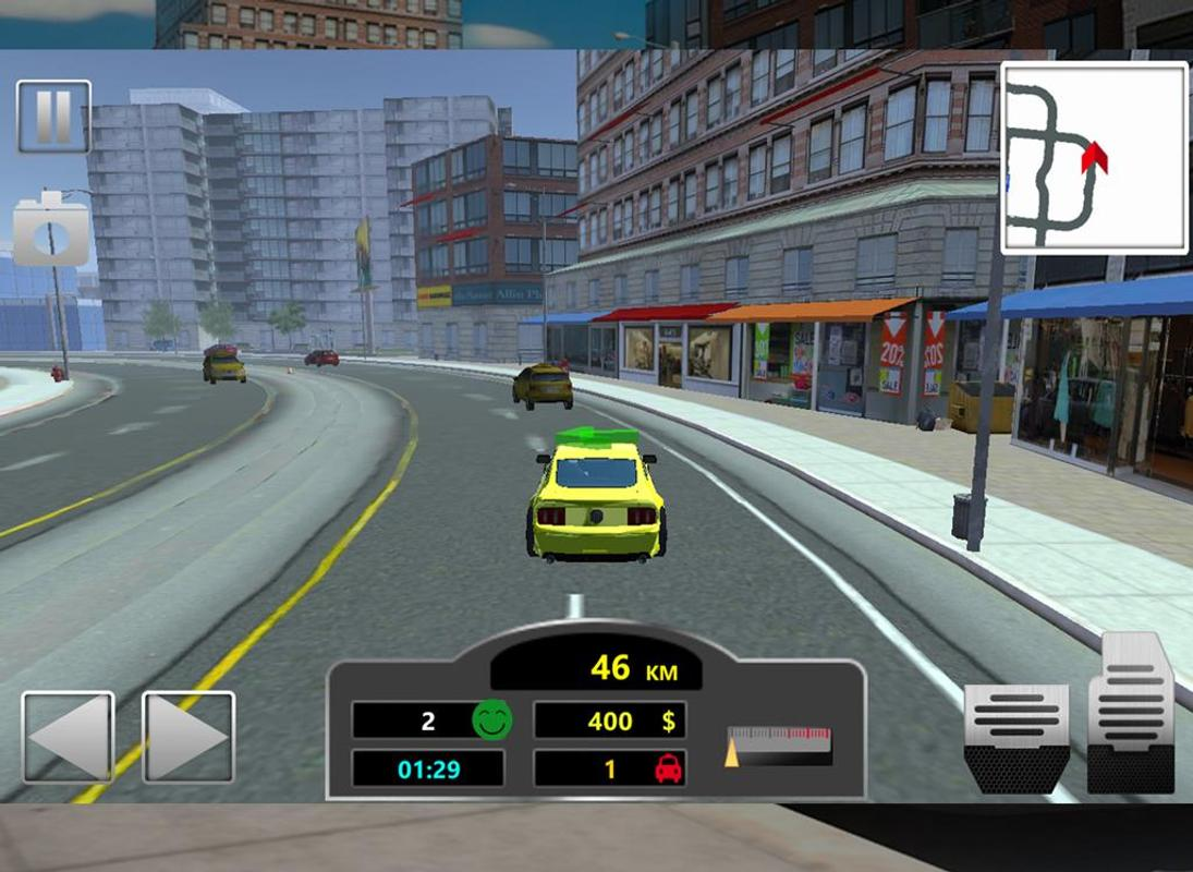 city taxi game