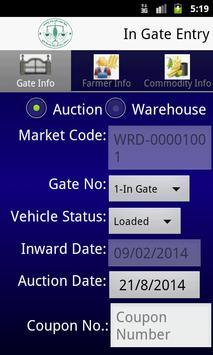 APMC Ingate-Outgate Entry App. apk screenshot