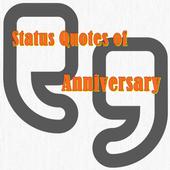 Status Quotes of Anniversary icon
