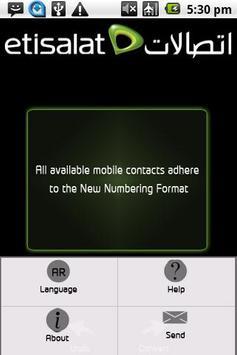 Etisalat apk screenshot