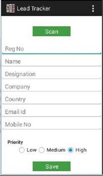 ACREX Lead Tracker apk screenshot
