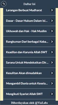 Kitab Arbain Nawawiyah Lengkap apk screenshot