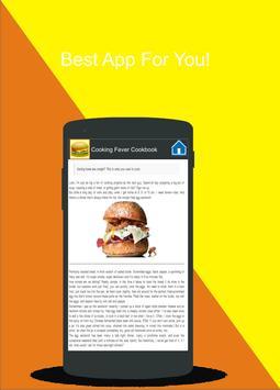 Cooking Fever Cookbook apk screenshot