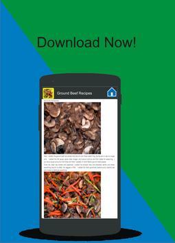 Ground Beef Recipes apk screenshot