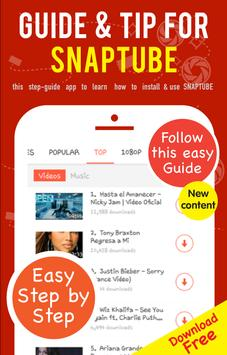 Guide Tips for SnapTube poster