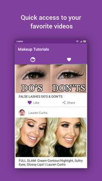 Makeup Video Tutorials apk screenshot