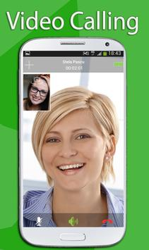 Free Video Call For WhatsApp poster
