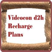 Videocon d2h Recharge Plans icon