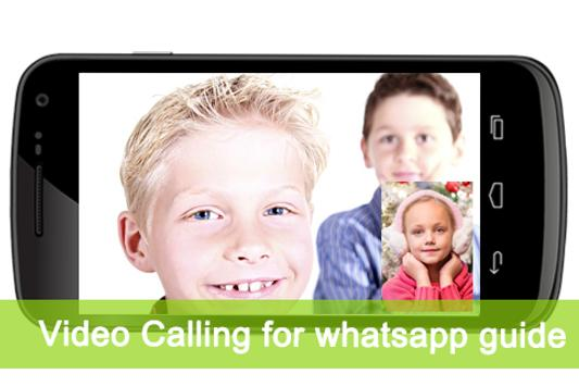 Video Calling for Whatsap Tips poster