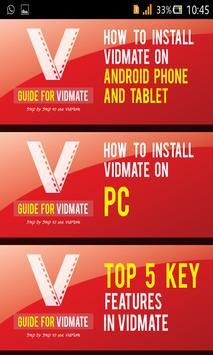 Video Vidmate Download apk screenshot