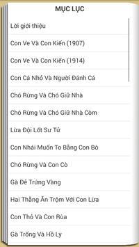 Truyện Ngụ Ngôn La phông ten apk screenshot