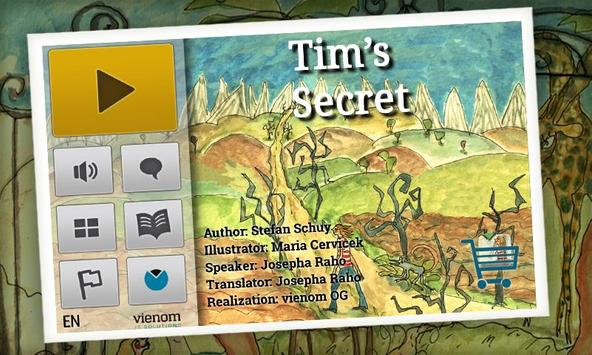 Tim's Secret | Kids Book apk screenshot