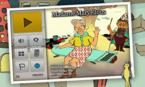 Madame Marvellous   Kids Book poster
