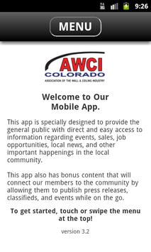 AWCI Colorado Chapter poster