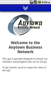 Anytown Business Network poster